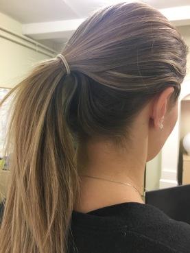 My real hair!
